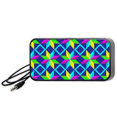 Pattern Star Abstract Background Portable Speaker