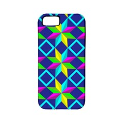 Pattern Star Abstract Background Apple Iphone 5 Classic Hardshell Case (pc+silicone)