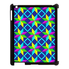 Pattern Star Abstract Background Apple Ipad 3/4 Case (black)
