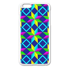 Pattern Star Abstract Background Apple Iphone 6 Plus/6s Plus Enamel White Case