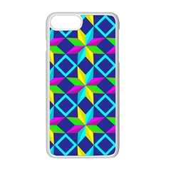 Pattern Star Abstract Background Apple Iphone 8 Plus Seamless Case (white)