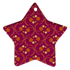 Pattern Wallpaper Seamless Abstract Star Ornament (two Sides)