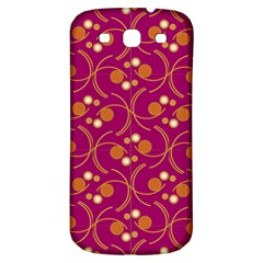 Pattern Wallpaper Seamless Abstract Samsung Galaxy S3 S Iii Classic Hardshell Back Case