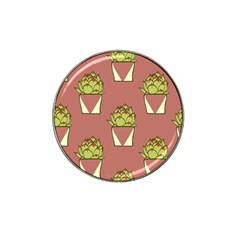Cactus Pattern Background Texture Hat Clip Ball Marker (10 Pack) by Pakrebo