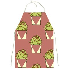 Cactus Pattern Background Texture Full Print Aprons