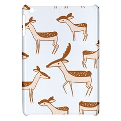 Seamless Deer Pattern Design Apple Ipad Mini Hardshell Case
