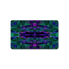 Abstract Pattern Desktop Wallpaper Magnet (name Card)
