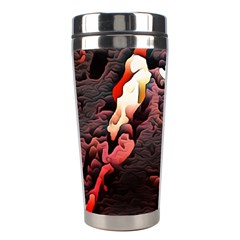 Texture Art Design Pattern Stainless Steel Travel Tumblers
