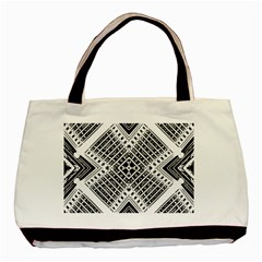 Pattern Tile Repeating Geometric Basic Tote Bag (two Sides)