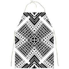 Pattern Tile Repeating Geometric Full Print Aprons