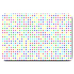 Dots Color Rows Columns Background Large Doormat