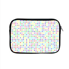 Dots Color Rows Columns Background Apple Macbook Pro 15  Zipper Case by Pakrebo