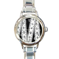 Build Bers Scale Craft Length Round Italian Charm Watch