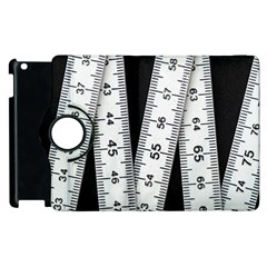Build Bers Scale Craft Length Apple Ipad 3/4 Flip 360 Case by Pakrebo