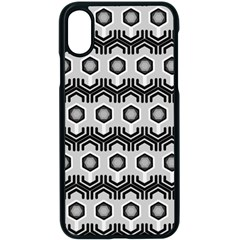 Pattern Abstract Desktop Wallpaper Apple Iphone X Seamless Case (black)