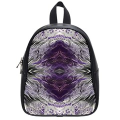 Pattern Abstract Horizontal School Bag (small)