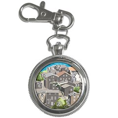 Village Place Portugal Landscape Key Chain Watches