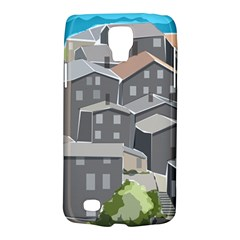 Village Place Portugal Landscape Samsung Galaxy S4 Active (i9295) Hardshell Case