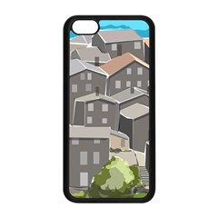 Village Place Portugal Landscape Apple Iphone 5c Seamless Case (black)