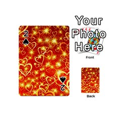Pattern Valentine Heart Love Playing Cards 54 (mini)
