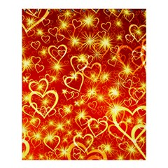 Pattern Valentine Heart Love Shower Curtain 60  X 72  (medium)