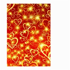 Pattern Valentine Heart Love Small Garden Flag (two Sides)