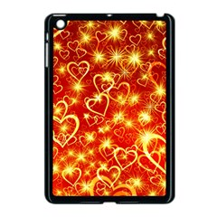 Pattern Valentine Heart Love Apple Ipad Mini Case (black)