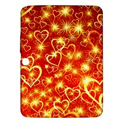 Pattern Valentine Heart Love Samsung Galaxy Tab 3 (10 1 ) P5200 Hardshell Case  by Mariart
