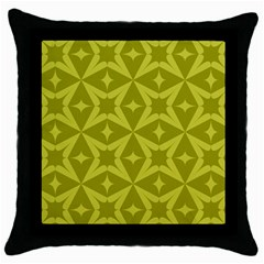 Wallpaper Geometric Throw Pillow Case (black) by Jojostore
