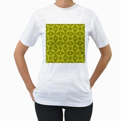 Wallpaper Geometric Women s T Shirt (white)