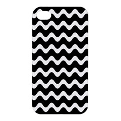 Wave Pattern Wave Halftone Apple Iphone 4/4s Premium Hardshell Case
