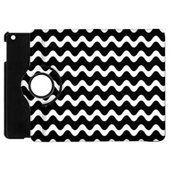 Wave Pattern Wave Halftone Apple Ipad Mini Flip 360 Case