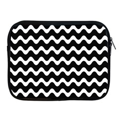 Wave Pattern Wave Halftone Apple Ipad 2/3/4 Zipper Cases