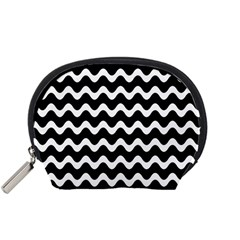 Wave Pattern Wave Halftone Accessory Pouch (small)