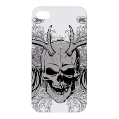Skull Vector Apple Iphone 4/4s Premium Hardshell Case