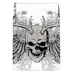 Skull Vector Removable Flap Cover (l)