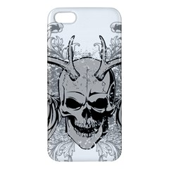 Skull Vector Iphone 5s/ Se Premium Hardshell Case
