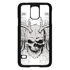 Skull Vector Samsung Galaxy S5 Case (black)