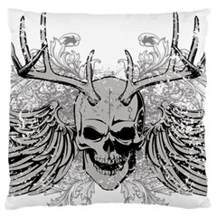 Skull Vector Standard Flano Cushion Case (two Sides)
