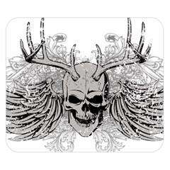 Skull Vector Double Sided Flano Blanket (small)