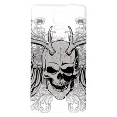 Skull Vector Samsung Note 4 Hardshell Back Case