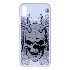 Skull Vector Apple Iphone Xs Max Seamless Case (white)