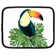 Tropical Birds Netbook Case (large)