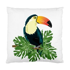 Tropical Birds Standard Cushion Case (two Sides)