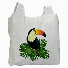 Tropical Birds Recycle Bag (two Side)