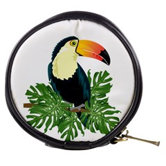 Tropical Birds Mini Makeup Bag