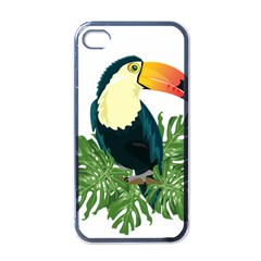 Tropical Birds Apple Iphone 4 Case (black)