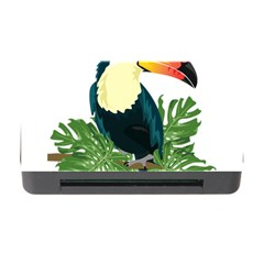 Tropical Birds Memory Card Reader With Cf