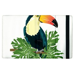 Tropical Birds Apple Ipad 2 Flip Case