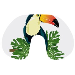 Tropical Birds Travel Neck Pillows